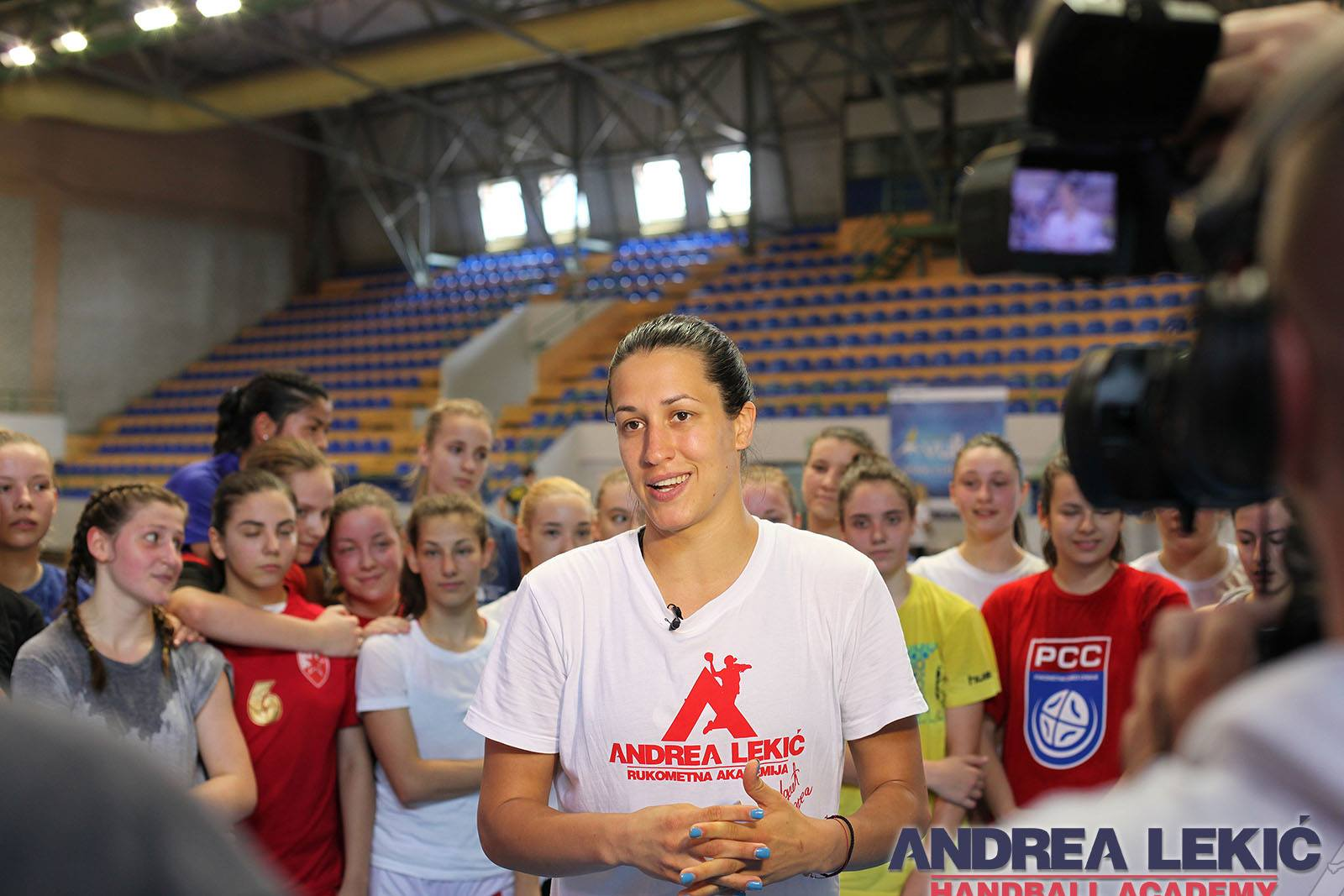 handball camp andrea lekic
